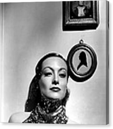 Joan Crawford, 62234 Canvas Print by Everett