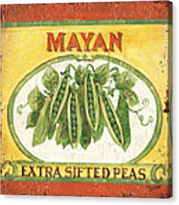 Mayan Peas Canvas Print