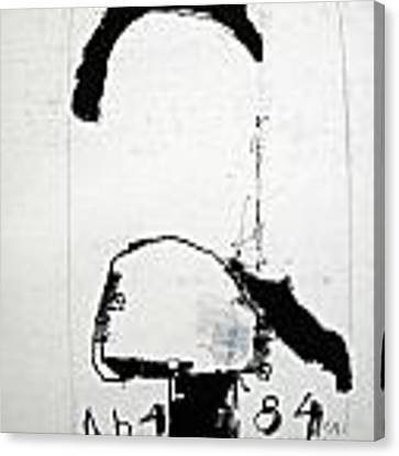Sketchbook 1  Pg1 Canvas Print by Cliff Spohn