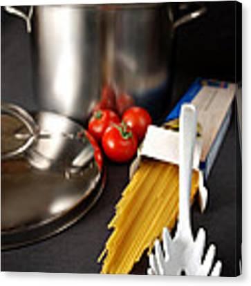 Spaghetti Canvas Print