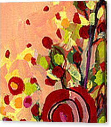 The Wild Roses Canvas Print