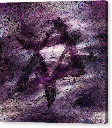 Jerusalem Canvas Print - . . . When We Remembered Zion by Rachel Christine Nowicki