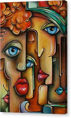 ' Blend ' Canvas Print