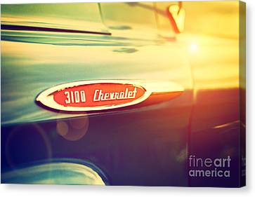 3100 Chevrolet Canvas Print by Tim Gainey
