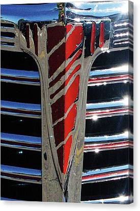 41 Chevrolet Emblem Canvas Print