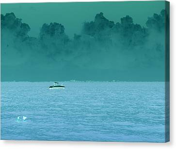 Approaching Storm  Canvas Print by Florene Welebny