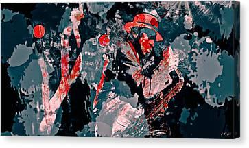 Archie Shepp Is A Legend Canvas Print