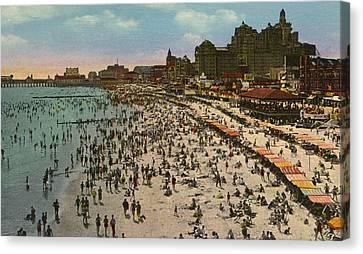 Atlantic City Spectacle Canvas Print