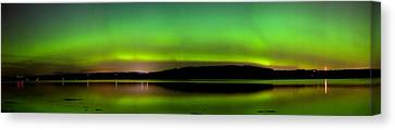 Aurora Over The Beauly Firth Canvas Print