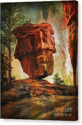 Balanced Rock  Canvas Print by Andrzej Szczerski