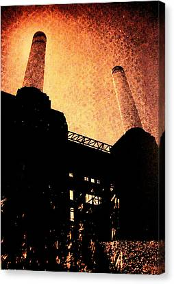 Battersea Power Station Canvas Print by David Studwell