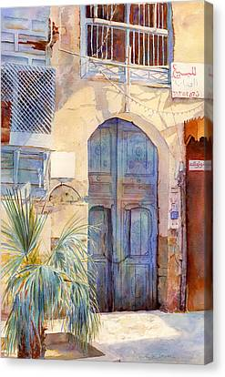 Blue Door  Canvas Print by Dorothy Boyer