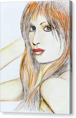 Blue Eyed Tangerine Canvas Print by Stephen Brooks