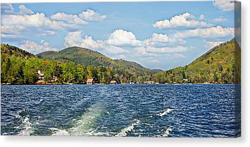 Boat Ride Digital Art Canvas Print
