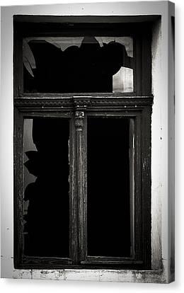 Broken Window Canvas Print by Calinciuc Iasmina