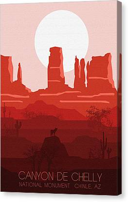 Canyon De Chelly National Monument 5 - By Diana Van Canvas Print by Diana Van
