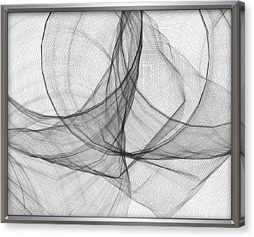 ' Caught In The Gauze Of Life ' Canvas Print