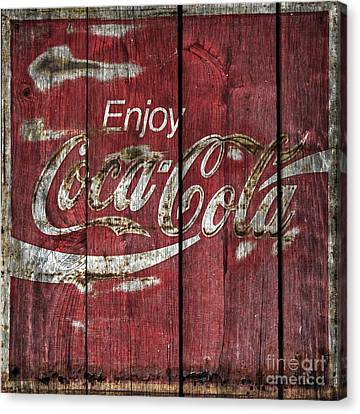 Curtains Ideas coca cola shower curtain : Coca Cola Sign Barn Wood Photograph by John Stephens
