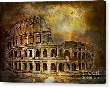 Colosseum Canvas Print by Andrzej Szczerski