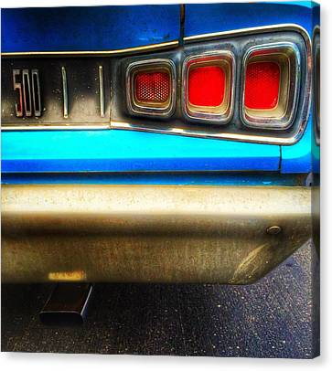 Canvas Print -  Coronet 500 Rear by Jame Hayes