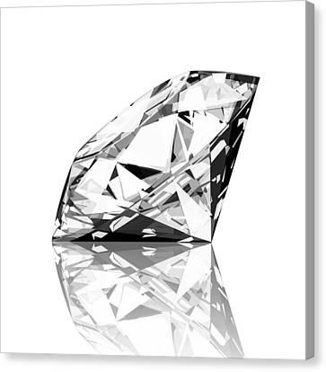 Jewels Canvas Print -  Diamond by Setsiri Silapasuwanchai