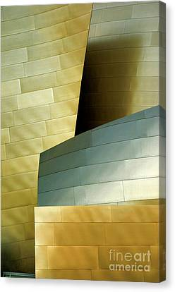 Disney Concert Hall 8 Canvas Print by Micah May