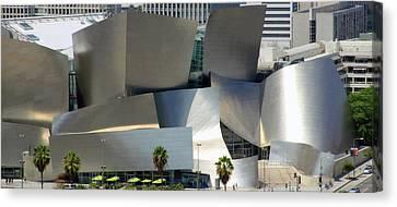 La Philharmonic Canvas Print - @ Disney Hall, Los Angeles by Jim McCullaugh
