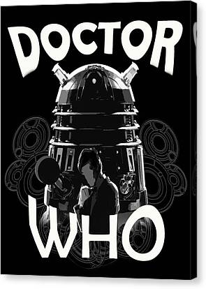 Doctor Who? Canvas Print by Brigitte Chum