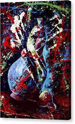 Dripx 80 Canvas Print