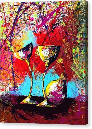 Dripx 86 Canvas Print