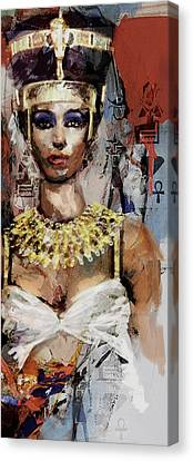 Egyptian Culture 10b Canvas Print by Mahnoor shah