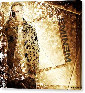 Eminem - A Story Canvas Print