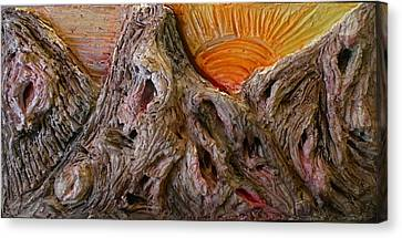 Expression Caves Canvas Print by Kime Einhorn