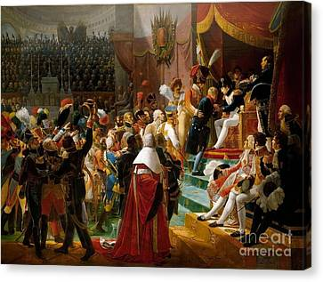 First Distribution Of The Legion Of Honor Canvas Print by MotionAge Designs