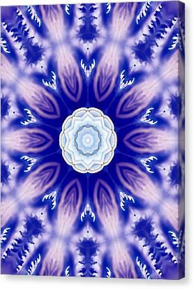 Flower Mandala 1 Canvas Print