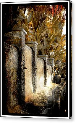 Canvas Print featuring the photograph   Flowing Waterfall  by Athala Carole Bruckner