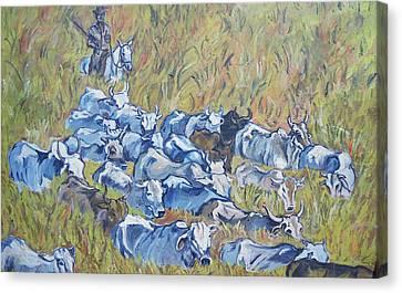 Gaucho Roundup Canvas Print