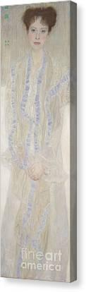 Gertrud Loew Canvas Print by MotionAge Designs