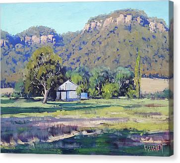 Hartley Bluffs Canvas Print by Graham Gercken