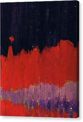 Horizon Unknown Canvas Print by Anne-Elizabeth Whiteway