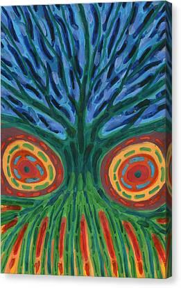 I See You Canvas Print by Wojtek Kowalski