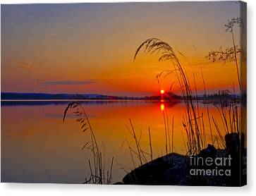 In The Morning At 4.04 Canvas Print by Veikko Suikkanen