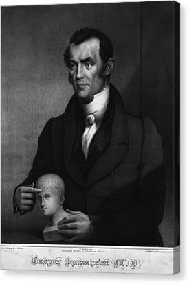 Johann Gaspar Spurzheim 1776-1832 Canvas Print by Everett