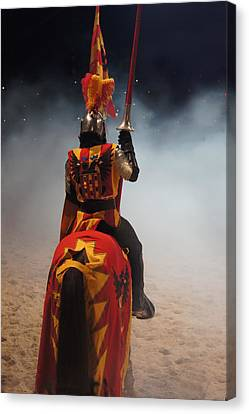 Knight  Canvas Print