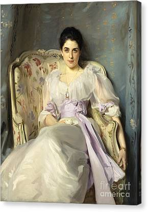 Lady Agnew Of Lochnaw Canvas Print by MotionAge Designs