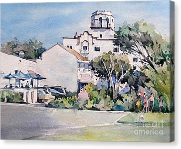 Canvas Print -  Laguna Beach Hotel - California by Natalia Eremeyeva Duarte