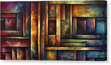 ' Levels Of Order ' Canvas Print