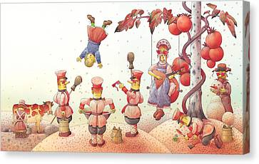 Communism Canvas Print -  Lisas Journey09 by Kestutis Kasparavicius