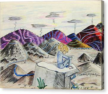 Lost Childhood Canvas Print