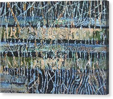 Mangrove Swamp Canvas Print by Christopher Chua